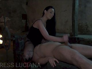 Handjob and Facesitting for my Slave