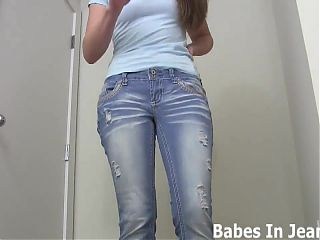 My ass looks amazing in these jeans JOI