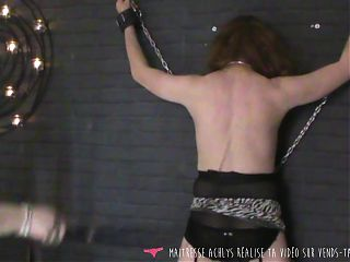 Vends-ta-culotte - French Sadistic Mistress Whips her Slave